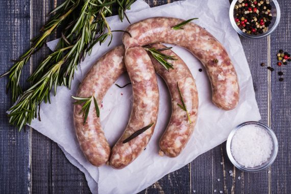Thin Pork SausagesThin Pork Sausages