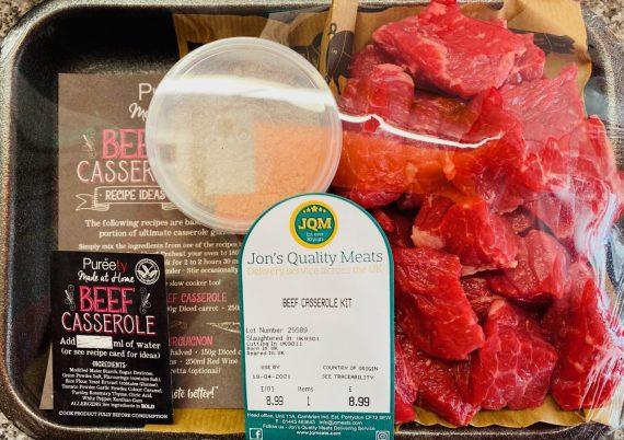 Diced Beef casserole mix