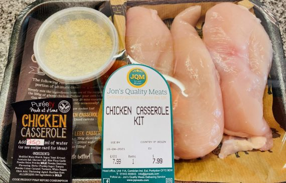 Chicken casserole mix